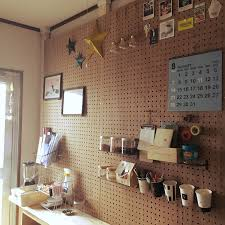 Pegboard Kitchen Love This Chalk Board With Outlines For All Pots And Pans Great