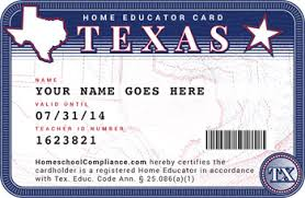Card Teacher Home School Id