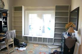 built ins around window billy bookcase built ins 9 fireplace built ins with windows