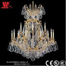 contemporary glod finished crystal chandelier