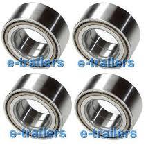car bearings. four 64x37x34 sealed trailer car bearings 4 knott 45887-10 571005 \u0026 alko 605124 car bearings a