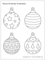 Coloring book pages printable coloring pages coloring sheets christmas colors christmas art christmas ornaments christmas balls. Round Christmas Tree Ornament Set 2 Christmas Tree Coloring Page Christmas Ornament Template Printable Christmas Coloring Pages