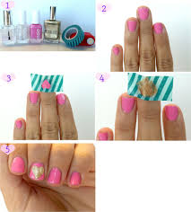 5 Step-by-Step Cute Little Heart Nail art Guides - Zestymag