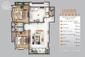 3 Bedroom Flat Design Plan In Nigeria The Nest Homes Building A Haven For You And Family