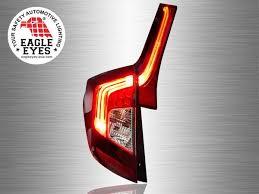 gk lighting llc. honda jazz gk 2014 - 2017 eagle eyes red smoke led light bar tail lamp gk lighting llc
