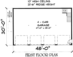 4 car garage house plans. Click On Picture For Complete Info 4 Car Garage House Plans