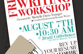 Resume Workshop Amazing 7611 Free Resume Writing Resume Writing Workshop Simple How To Write A