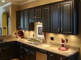 painted brown kitchen cabinets before and after. Kitchen Decorating Ideas For Dark Brown Cabinets Painted Before And After R