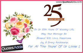 25th Anniversary Quotes Magnificent 48th Wedding Anniversary Wishes In Telugu