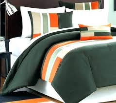orange and white comforter attractive inspiration orange and lime green bedding comforter sets white dark grey