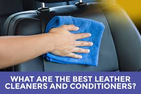best leather seat cleaners and conditioners review guide featured image