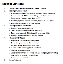 contents of a cover letters template contents of a cover letters