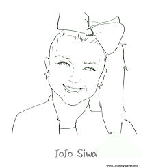 Jojo siwa is a dancer, singer, actor and character from america. Printable Jojo Siwa Coloring Pages Printable