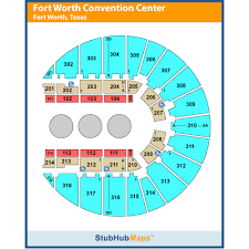 Fort Worth Convention Center Seating Chart Fort Worth Convention Center Fwcc Fort Worth Event Venue