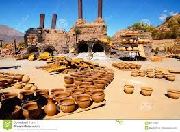 Pottery In Humahuaca Stock Image Image Of America Humahuaca 83131625