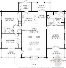 Log Home Floor Plans  Log Cabin Kits  Appalachian Log Homes Open Log Home Floor Plans