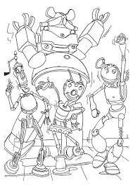 Robots Kleurplaat Disney Kleurplaat Animaatjesnl