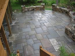 blue stone patio large
