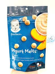 Sữa chua khô Gerber vị đào cho bé từ 6 tháng (28gr) – Tã Sữa SuBin