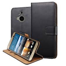 for htc m9 plus cover luxury genuine leather flip case for htc one m9 plus stand wallet caso capa leather cover with card holder