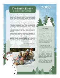free holiday newsletter template christmas family newsletter template the holidays are here