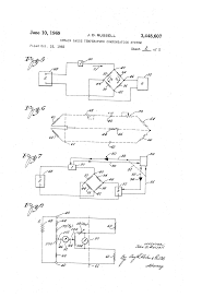 mechanical electrical large size patent us3448607 strain gauge temperature compensation system drawing