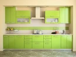 Cocinas Verdes Con Paredes Beige