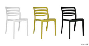 spaceist lama lime white black cafe chair blog