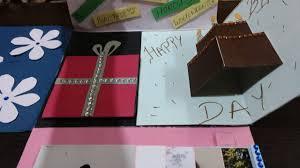 Folded Birthday Card Diy Multi Fold Birthday Card