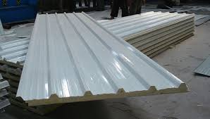 20 100 mm plain white corrugated roofing sheet