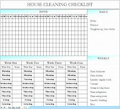 House Chores List Template Lovely Chore List Template Printable