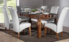 mumbai boston sheesham dining set white dining table and 4 6 or 8 chairs furniture choice