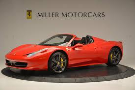 Showing the 2020 ferrari 488 spider. Pre Owned 2015 Ferrari 458 Spider For Sale Miller Motorcars Stock 4335