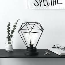 fashionable diamond lamp state life ins iron diamond bulb night light creative home decoration bedroom bedside