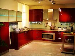 ... Kitchen, Red Rectangle Contemporary Steel Kitchen Motif Ideas Stained  Design For Kitchen Decor Ideas On ...