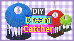Ideas For Making Dream Catchers Easy DIY Dreamcatcher with Yarn How to Make Dream Catcher Room 92