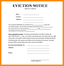 30 day termination letters copy of an eviction notice eviction notice templates lease