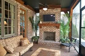 back porch fireplace back porch fireplace screened in porch wall mounted fans two doorways and a