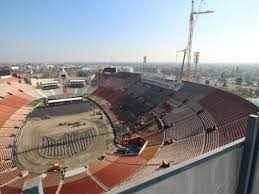 Los Angeles Memorial Coliseum A Plan Of Sectors And Stands
