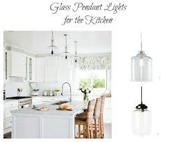 glass pendant lighting for kitchen. Glass Pendant Lights Kitchen Lighting For