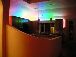 kitchen rope lighting. led rope lights 2 x 6 meter multicolor above kitchen cabinets lighting o