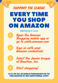 More questions and answers about amazonsmile. Donate Through Amazon Smile Now Available The Junior League Of Houston Inc