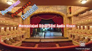 Bagi anda yang tertarik dengan dunia seni yang utuh, mungkin menekuni seni audio visual adalah jawabannya. Estetika Seni Audio Visual Youtube