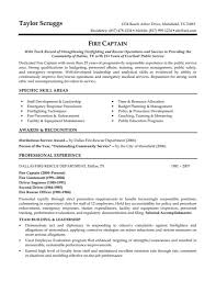 Police Officer Resume Example Examples Of Resumes