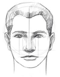 Face Perspective Chart How To Draw A Face Facial Proportions