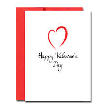 Valentine Cards Modern Heart Boxed 30 Note Cards 32 Env