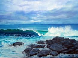 this seascape oil painting is from my recent trip to flinders on the mornington peninsula victoria australia