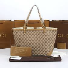 gucci bags outlet. 2014 gucci original gg canvas tote apricot bags outlet
