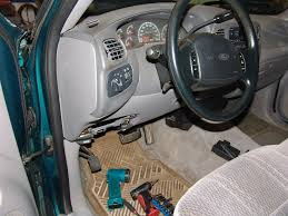 sparkys answers 1997 f150, changing the gem module, window 2004 Ford F 150 Fuse Box Location the first step is to remove the trim panel that covers the gap between the upper side of the steering column and the dash it just unsnaps from the dash fuse box location on 2004 ford f 150