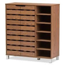 furniture shoe cabinet. baxton studio beppe 18pair shoe storage cabinet furniture e
